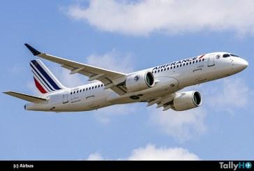 Airbus entrega el primero de los 60 A220 a Air France