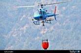Ecocopter se suma a la flota de helicópteros que combatirán los incendios forestales en Chile
