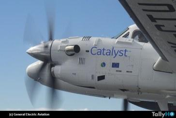 Nuevo motor turbohélice  de General Electric Aviation  'Catalyst' completa exitoso primer vuelo