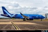 Breeze Airways presenta el primero de 80 Airbus A220 pedidos