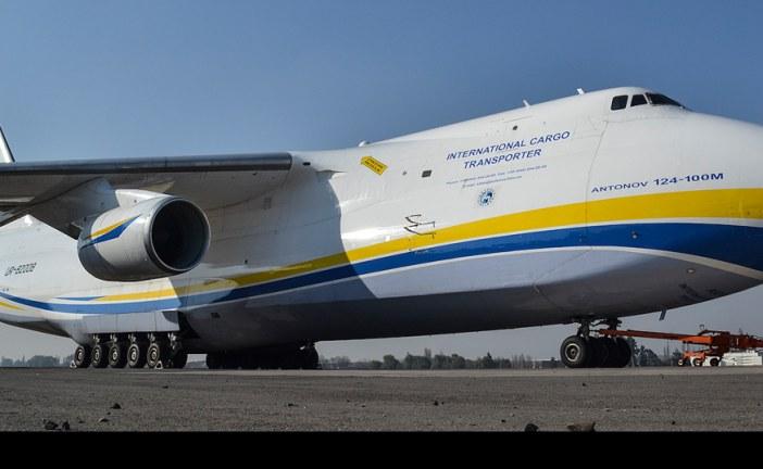 Antonov An124, un gran visitante en SCL