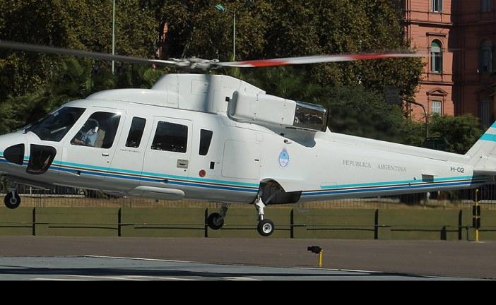 Sikorsky S-76B H-02, de la Agrupación Aérea Presidencial de Argentina