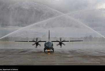 Primer RRAF C-27J Spartan, aterriza en Australia