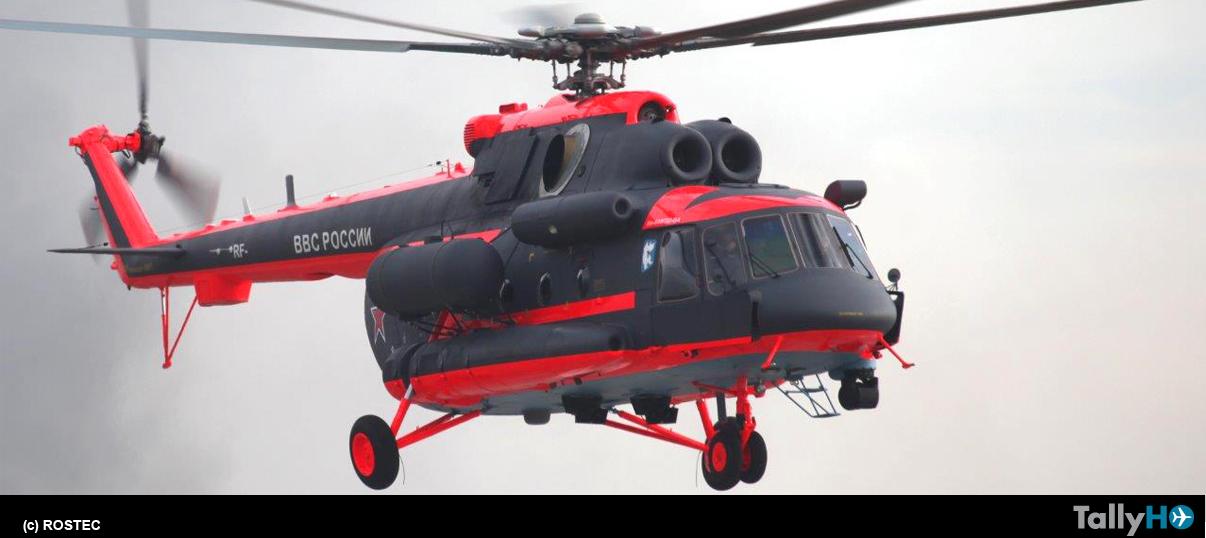 """Helicópteros de Rusia entregó el primer """"helicóptero ártico"""" al Ministerio de Defensa ruso"""