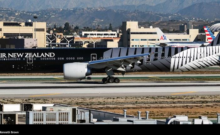 Vuelo inaugural Air New Zealand a Buenos Aires