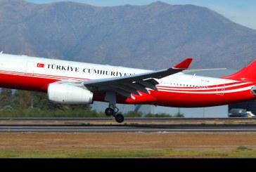 Aviones de Turquía en Chile por gira del Presidente Erdoğan