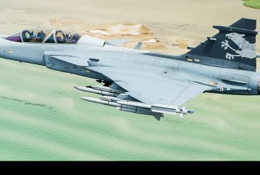 Entrevista teniente Philip von Platen piloto de Saab JAS-39 Gripen