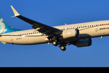 Boeing 737-8 MAX aterriza por primera vez en Sudamérica