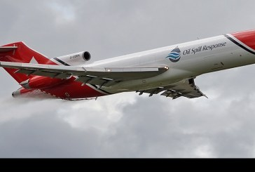 El noble Boeing 727 rugió de nuevo en Farnborough