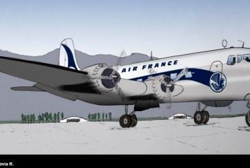 80 años del primer vuelo de Air France a Chile