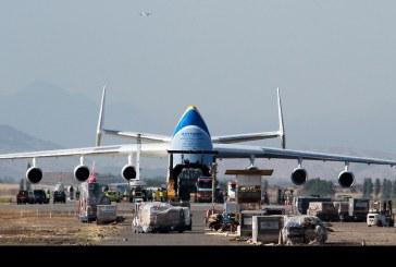 Operaciones del Antonov 225 Mriya en Chile