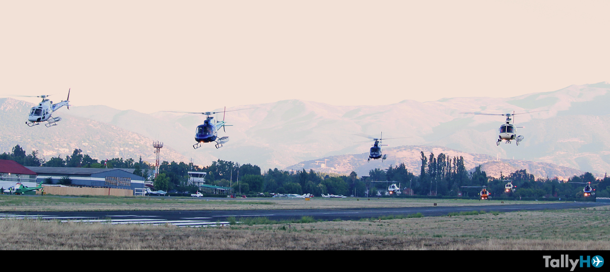 Helicópteros de Ecocopter rumbo al Dakar 2017