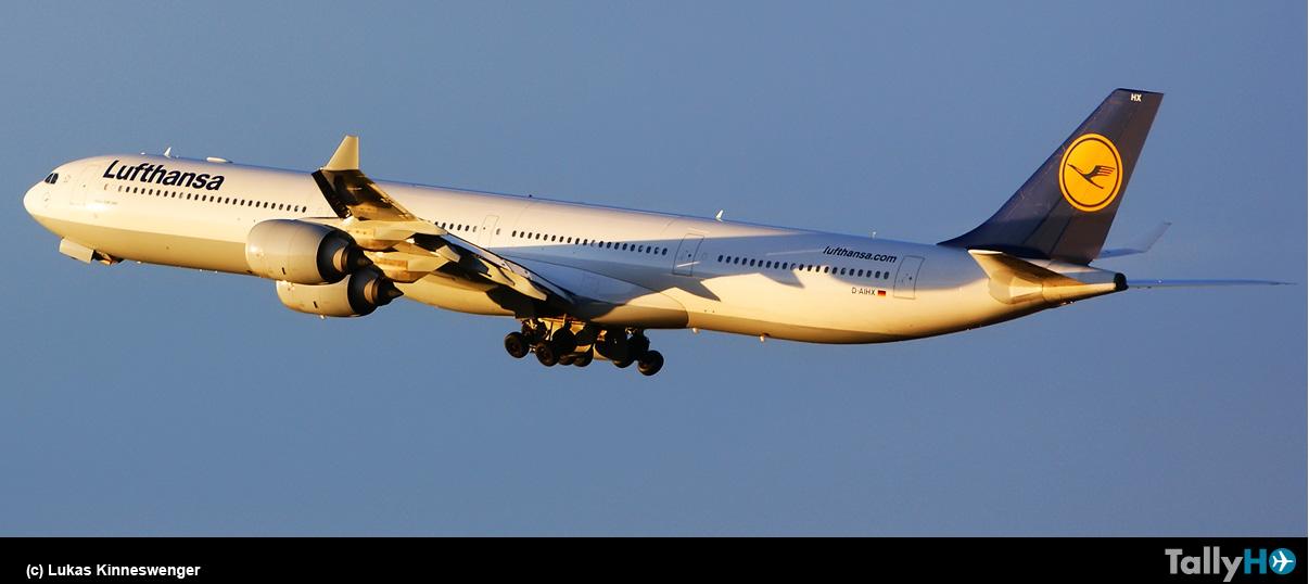 Lufthansa comenzó el retiro de su flota de Airbus A340-600