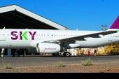 SKY recibe su primer avión con nuevo diseño de marca