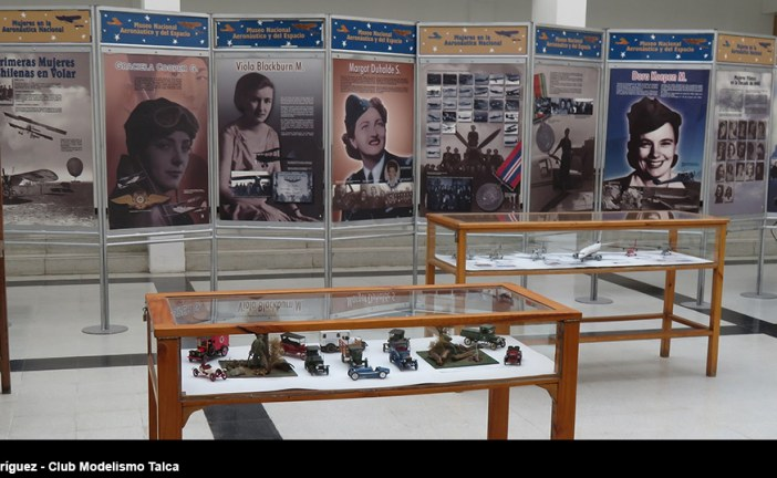 """Inauguración exposición conjunta """"Mujeres en la Aeronáutica Nacional"""" y """"Primera Exposición del Club de Modelismo de Talca año 2017"""""""