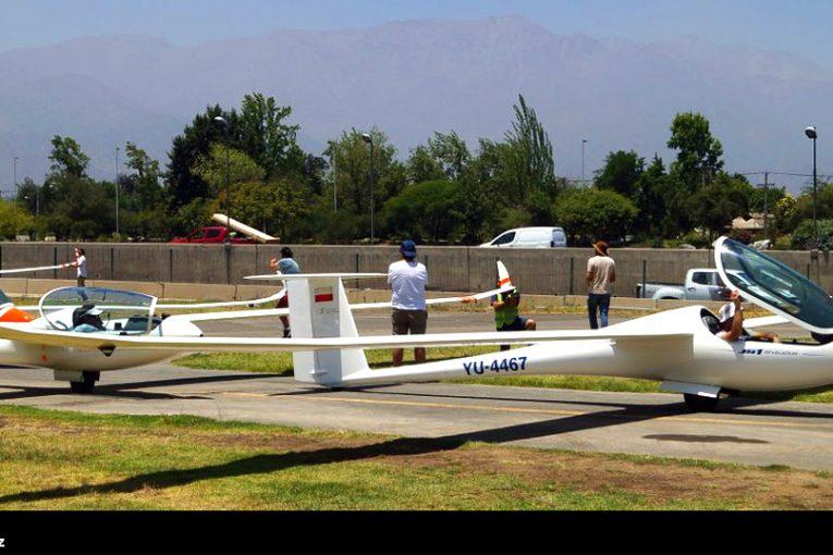 Jornada inaugural del 56° campeonato nacional de planeadores y Andes Open