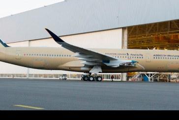 Primer A350 de Ultra Largo Alcance fue presentado por Airbus en Toulouse