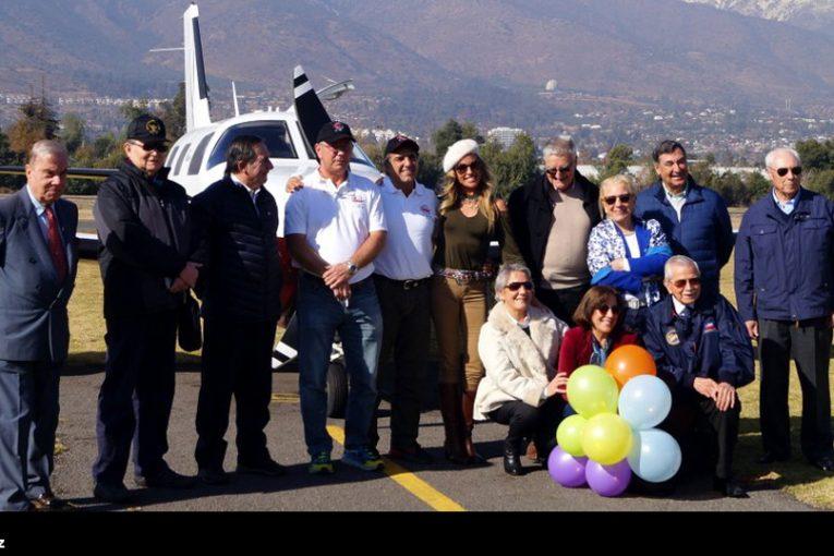 Llegada a Santiago de la «Travesía CC-360»