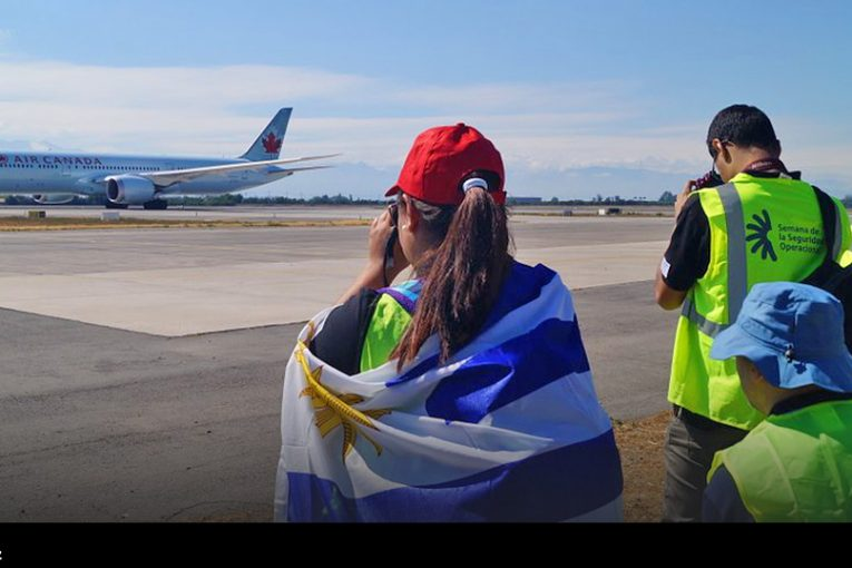 Última jornada de Spotters Day del 2018 en Aeropuerto Arturo Merino Benítez