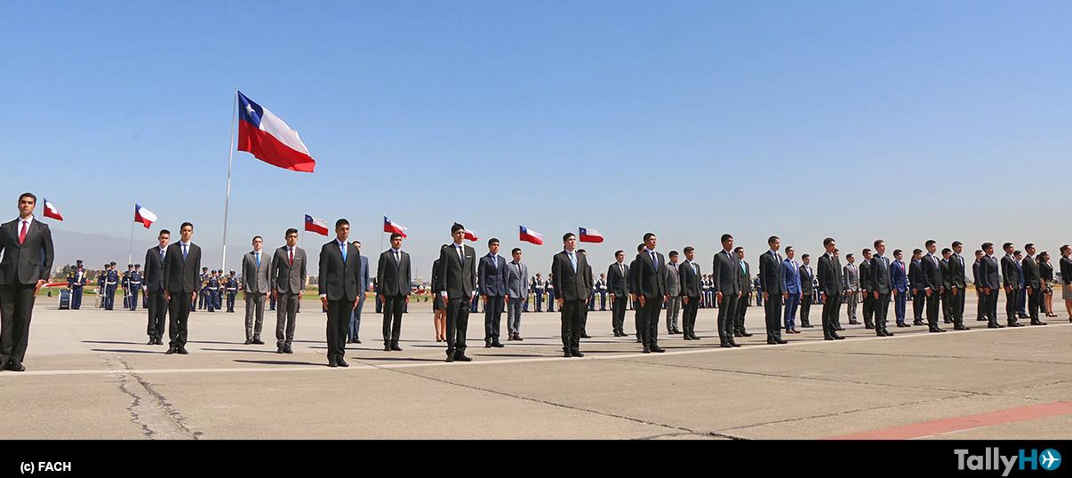 Ingreso de nuevos cadetes a la Escuela de Aviación Capitán Manuel Ávalos Prado