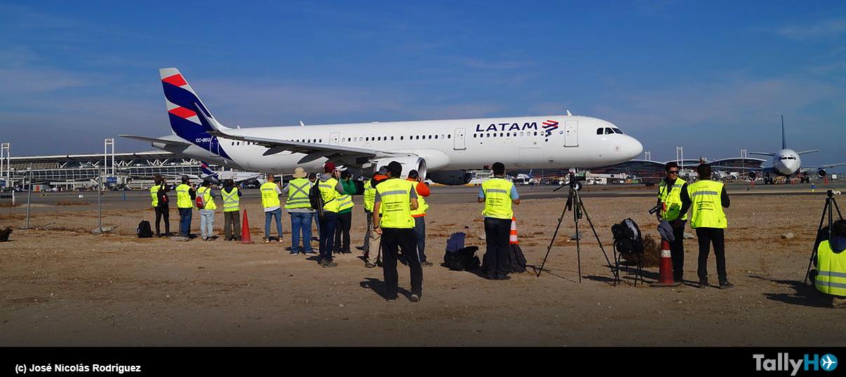 Primer Spotters Day del 2019 en Aeropuerto Arturo Merino Benítez