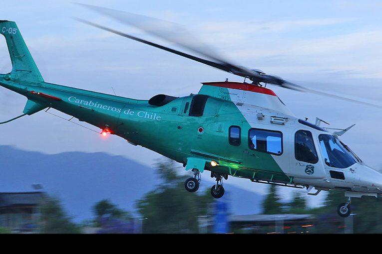 50 años operando helicópteros en Carabineros de Chile