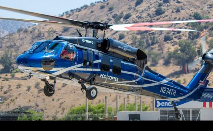 Presentación UH-60A Black Hawk contra incendios