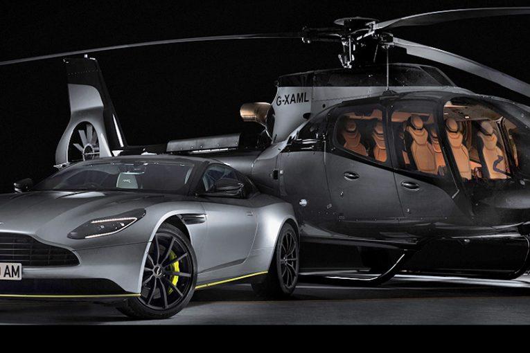 Airbus se asocia con Aston Martin para lanzar el helicóptero ACH130 Aston Martin Edition