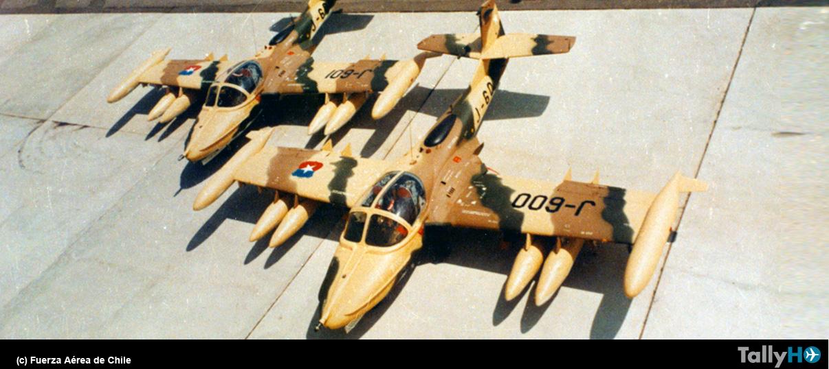 45 años de la llegada de los legendarios A-37B Dragonfly a la FACH