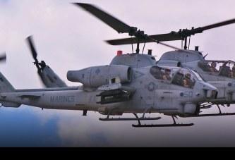Después de 34 años de servicio el Cuerpo de Marines de EE.UU. retira sus Bell AH-1W