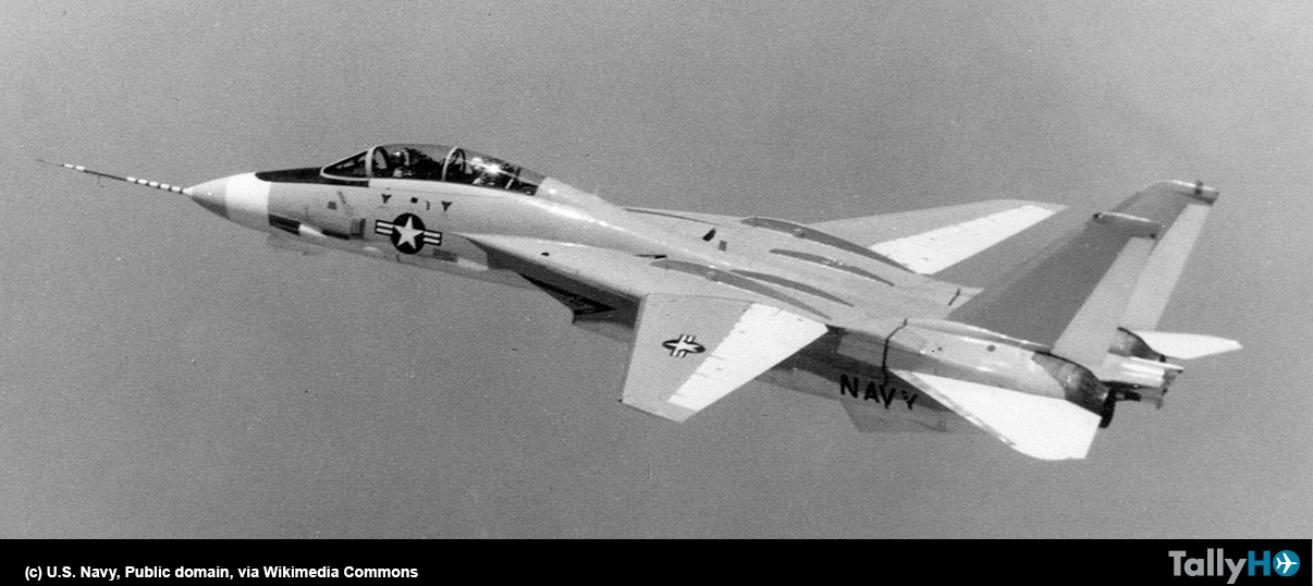 50 aniversario del primer vuelo del legendario F-14 Tomcat