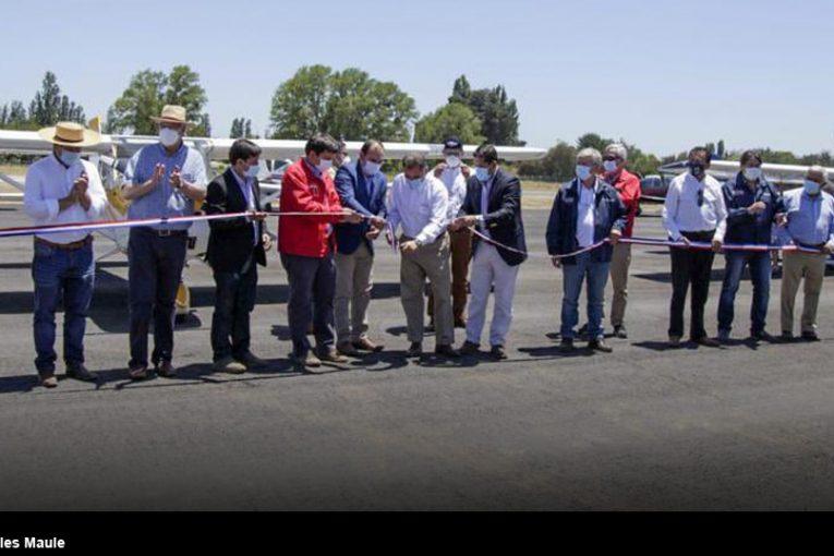 Reinauguración Aeródromo Carlos del Campo Rivera de Linares
