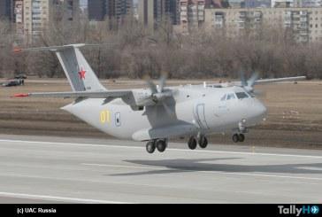 Avión de transporte militar Il-112V reanuda el programa de pruebas de vuelo