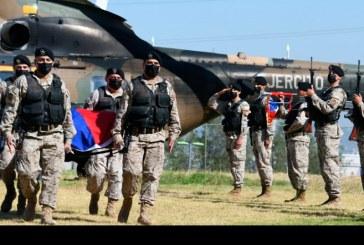 Complejo rescate de cuerpos de helicóptero del Ejército accidentado hace 40 años