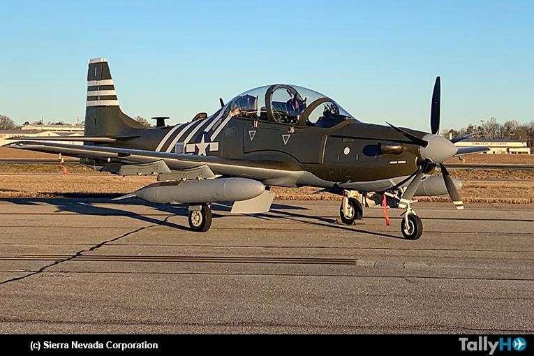 AFSOC de EE.UU. pronto recibirá todos sus A-29 de ataque ligero