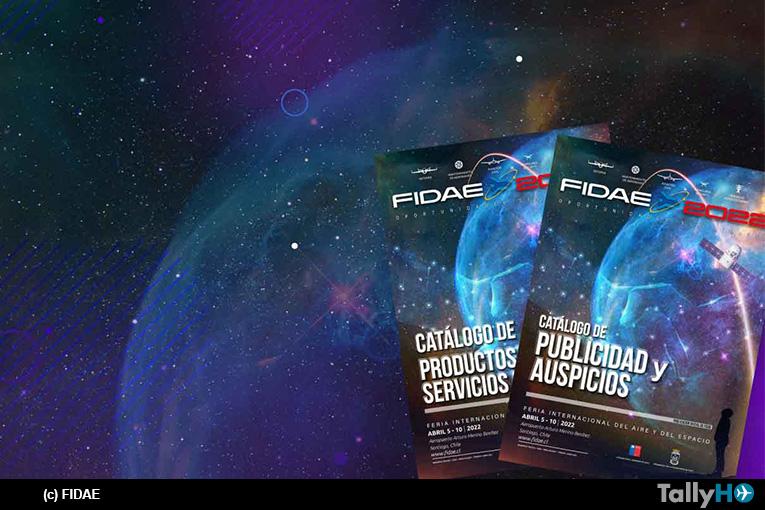 FIDAE lanza sus catálogos y ya cuenta con el 55%  reservado para su próxima edición