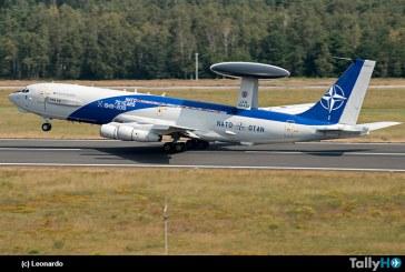 Radio aérea definida por software (SDR) de Leonardo fue seleccionada por Boeing para equipar la flota AWACS de la OTAN