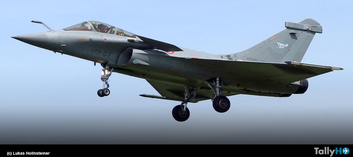 Croacia selecciona al Dassault Rafale para su Fuerza Aérea