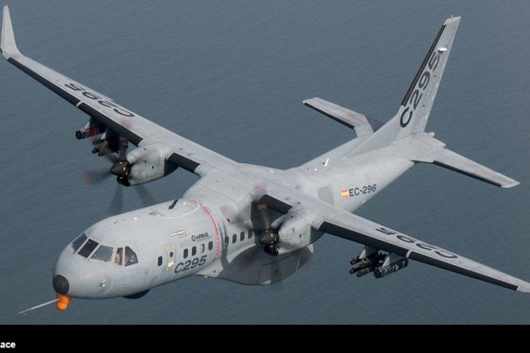 Airbus Defence and Space ha presentado una actualización de su versión armada C295 en SOFINS 2021
