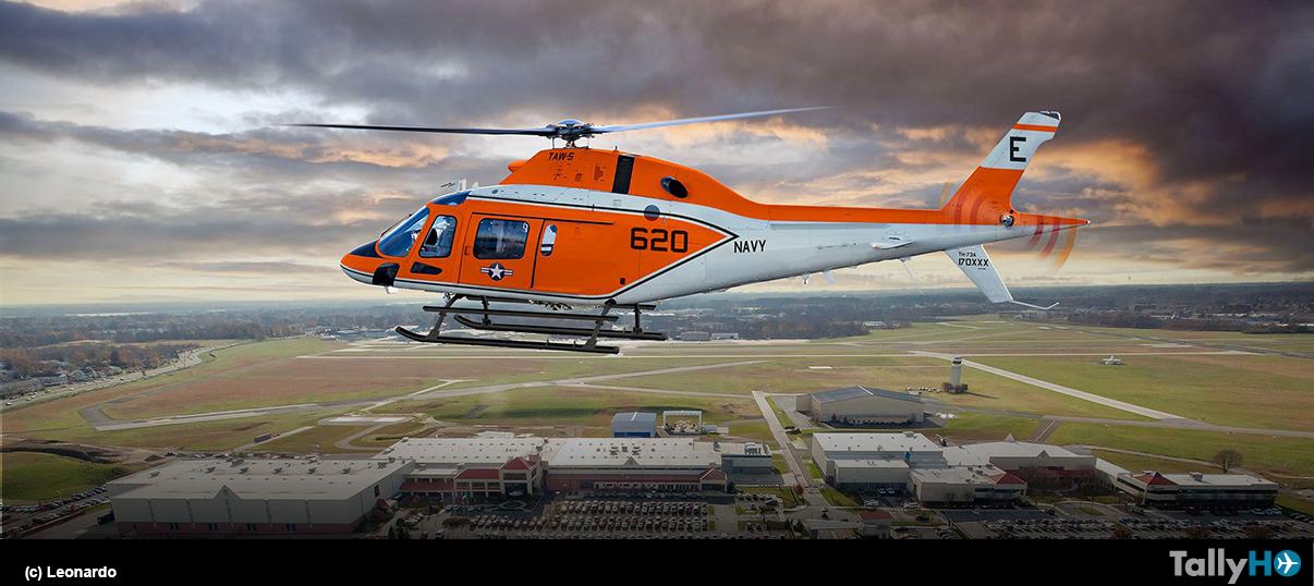 Leonardo entrega el primer helicóptero de entrenamiento TH-73A a la US Navy