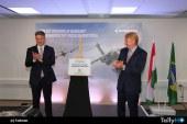Embraer celebra la apertura de oficina en Hungría