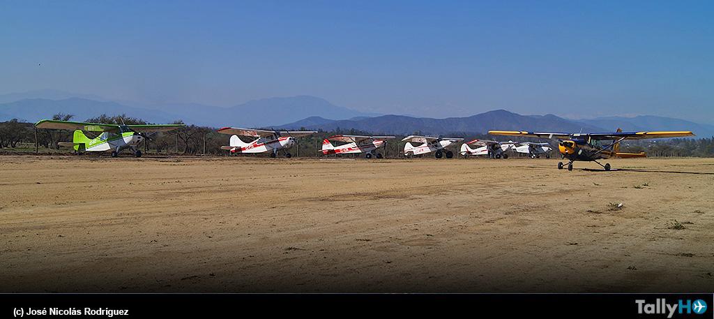 Encuentro de pilotos y aviones «Fly-inn 2021»