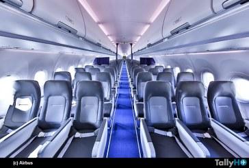 Nueva cabina Airspace de pasillo único de Airbus entra en servicio con Lufthansa Group
