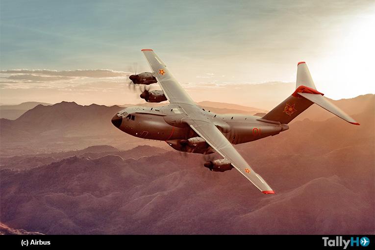 República de Kazajistán encarga dos Airbus A400M