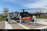 Rescate de emergencia mediante helicópteros en Chile