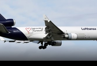 Adiós a los MD-11F de Lufthansa se acerca el fin de era de los trirreactores